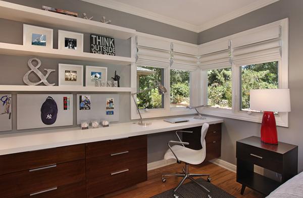 Çalışma Odası Dekorasyon Önerileri (1)