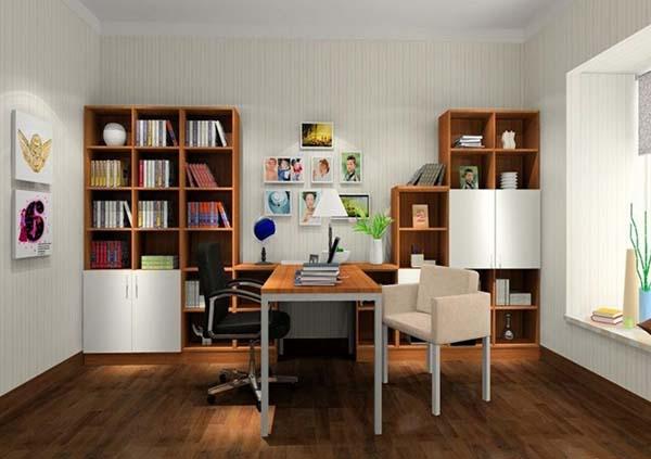 Çalışma Odası Dekorasyon Önerileri (11)