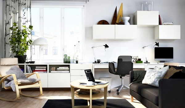 Çalışma Odası Dekorasyon Önerileri (12)