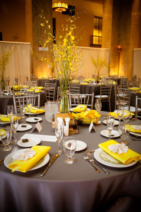 Yaz Sofraları İçin Sarı Sofra Dekorasyonları (4)