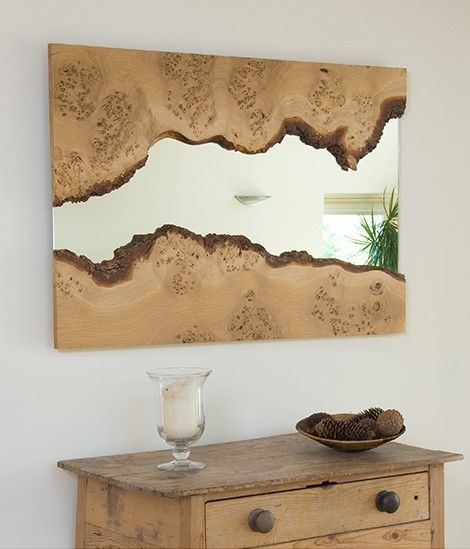 Ev Dekorasyonunuza Yakacak Ahap Ayna Modelleri