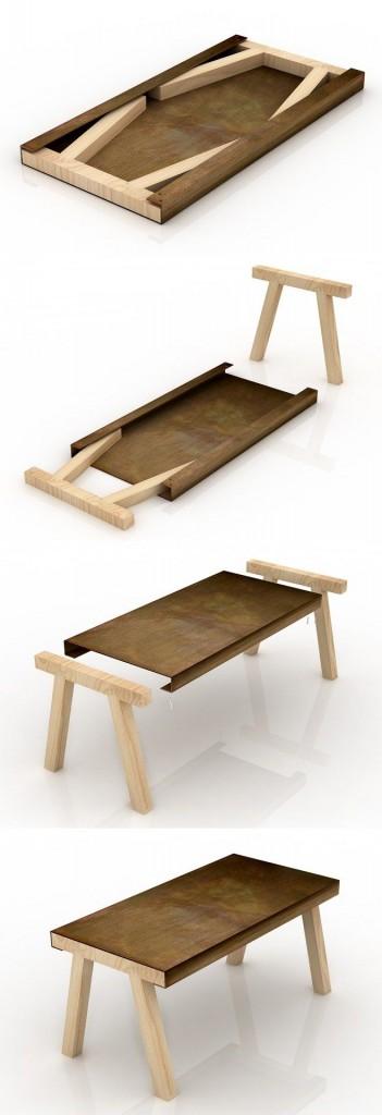 Pratik kullan ma sahip ah ap ev e yalar for Flat pack muebles
