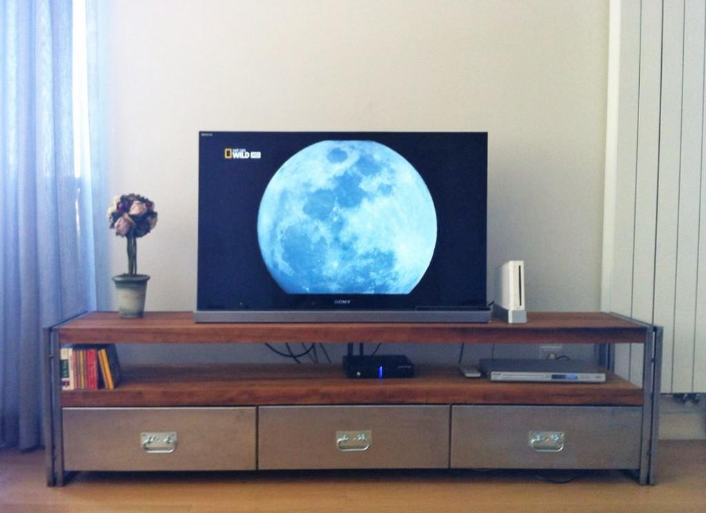 Rokko Masif Ahşap Tv Sehpası