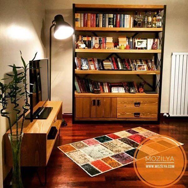 Evinize Çok Yakışacak Kitaplık Modelleri